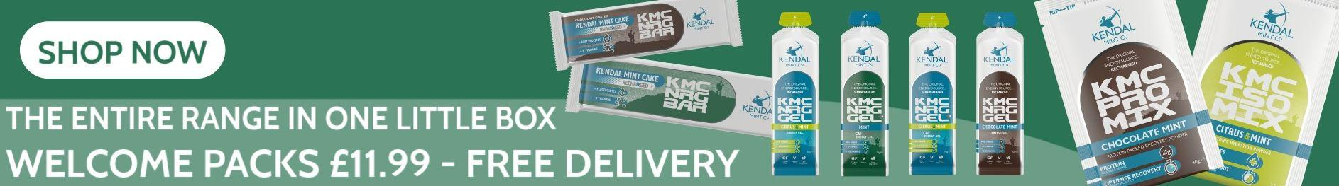 KMC Kendal Mint Co. Welcome Pack