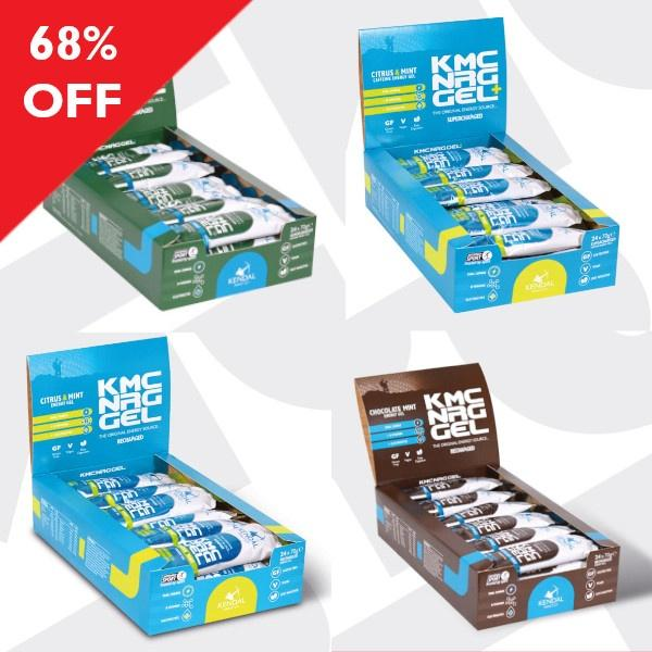 KMC NRG GEL Bundle XXL (96x70g Gels) SD