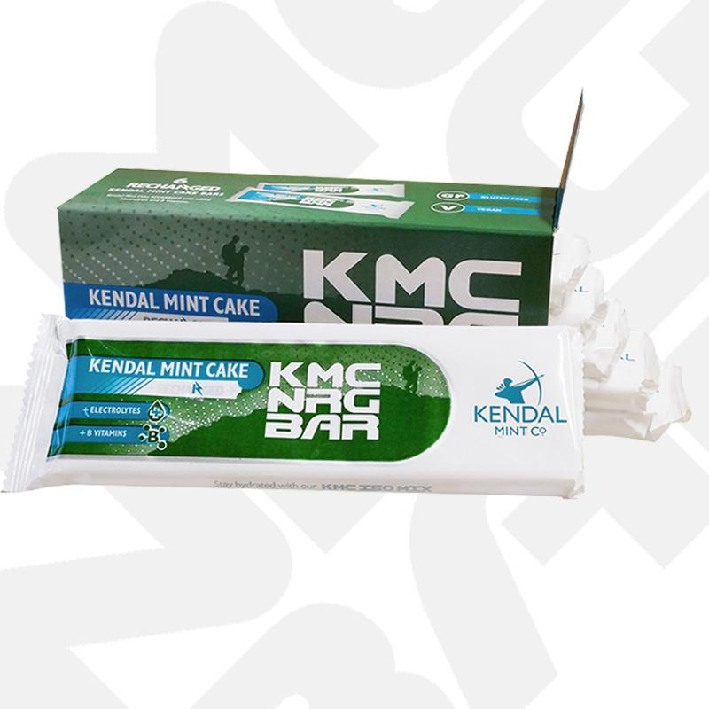 KMC NRG BAR Kendal Mint Cake Recharged 85g