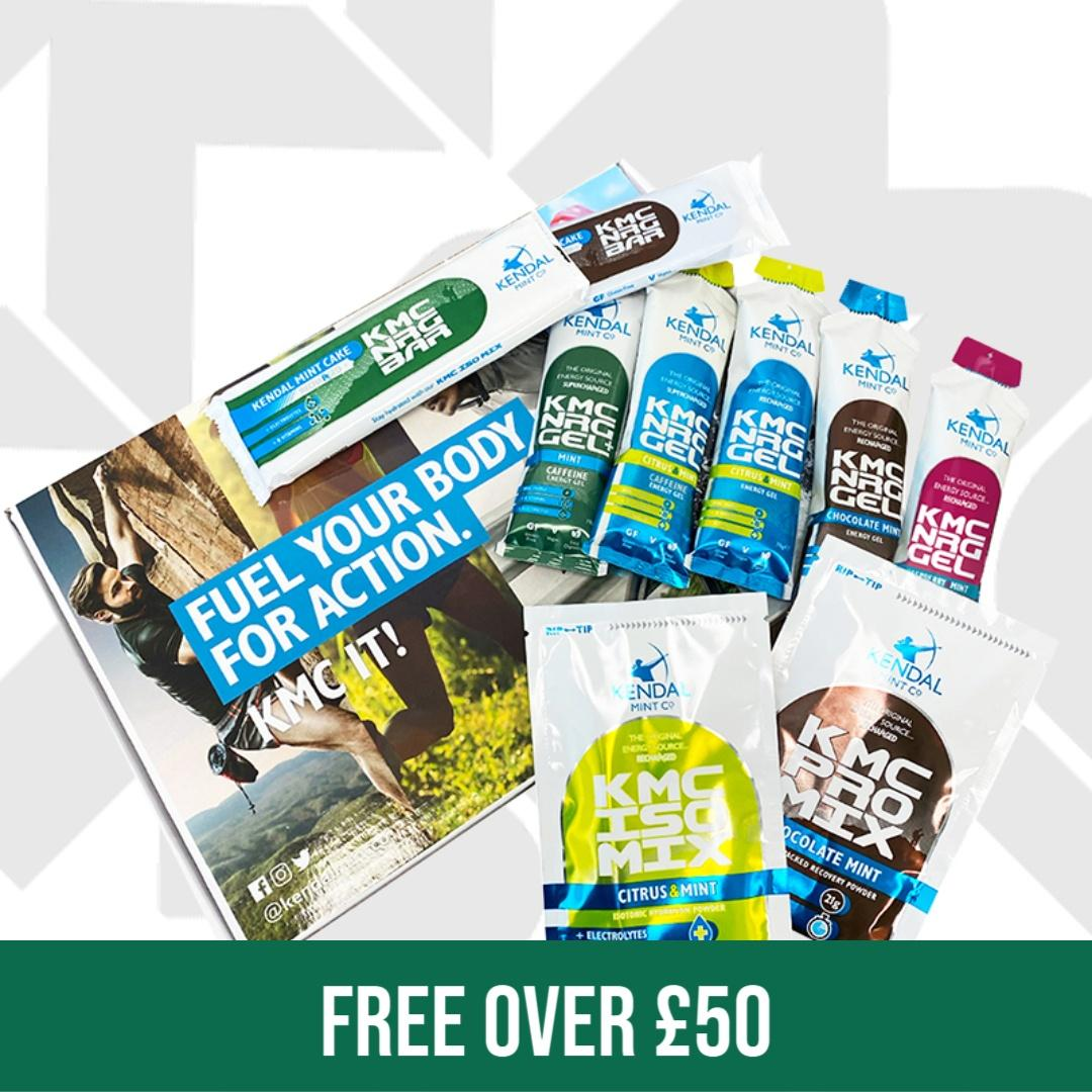 KENDAL MINT CO FREE ACTION PACK OVER £50