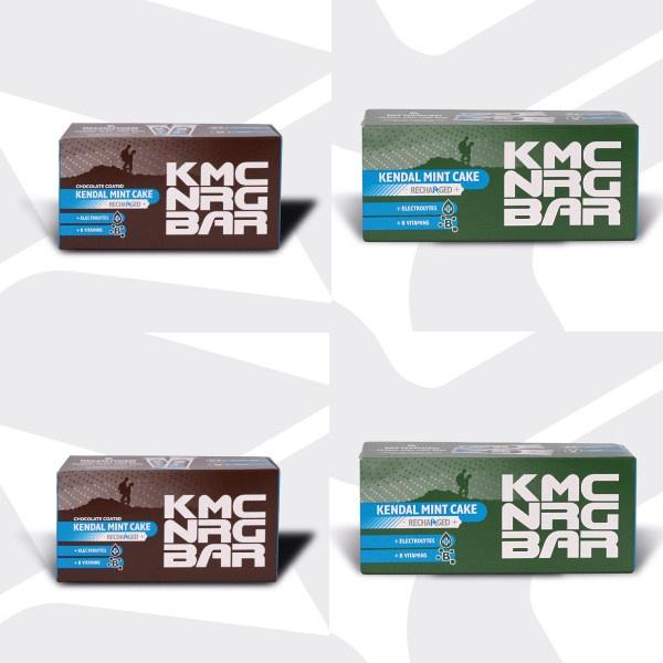 KMC NRG BAR Kendal Mint Cake Bundle