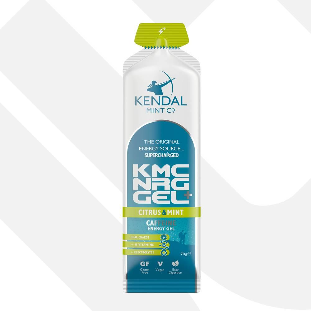 KMC NRG GEL+ Citrus & Mint Caffeine Energy Gel 70g