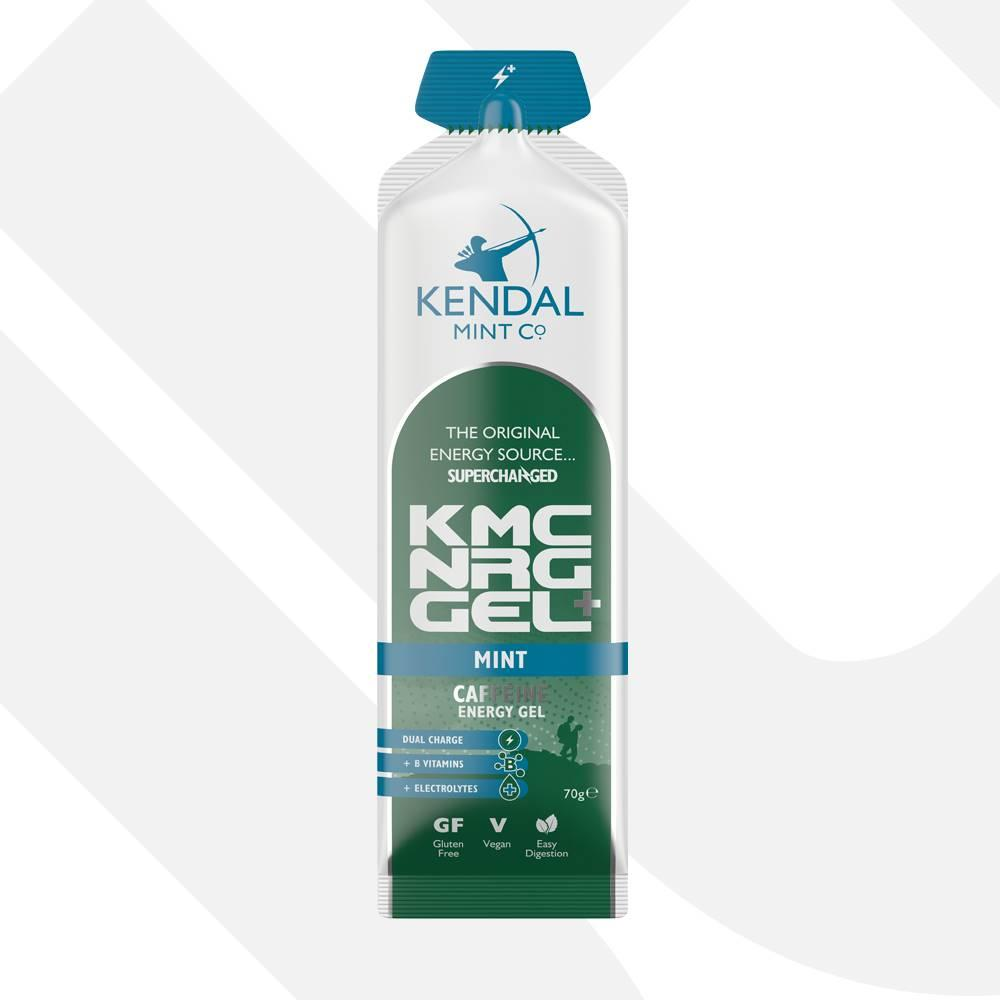 KMC NRG GEL+ Mint Caffeine Energy Gel 70g