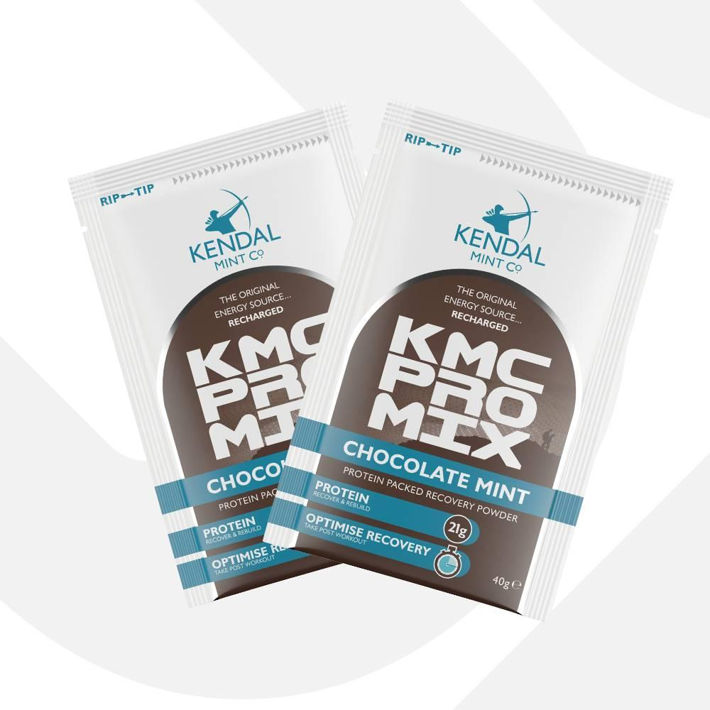 KMC PRO MIX Chocolate Mint Protein Recovery (40g)