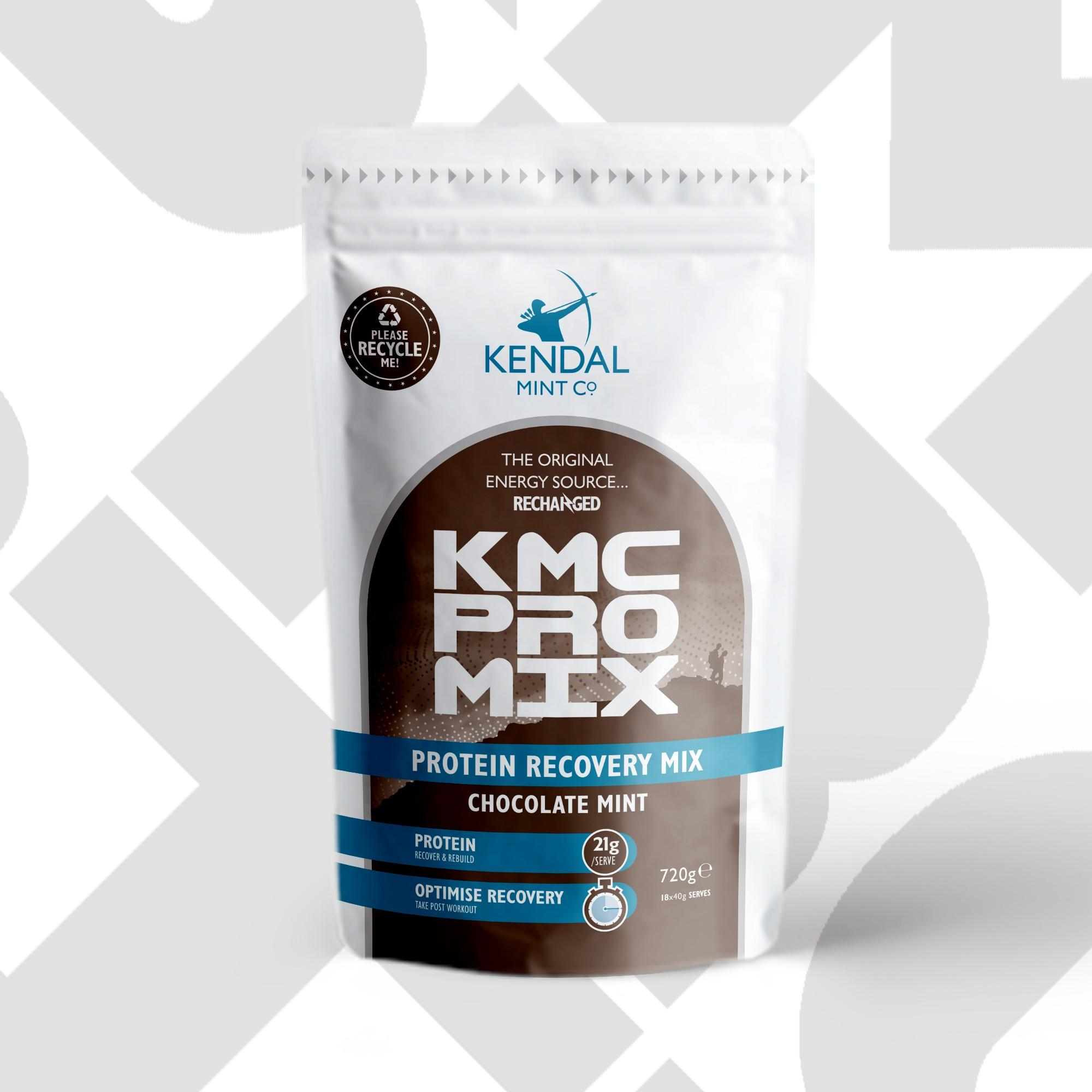 NEW! KMC PRO MIX Protein Recovery 100% Recyclable Bulk Pouch 720g/ 18 Serves