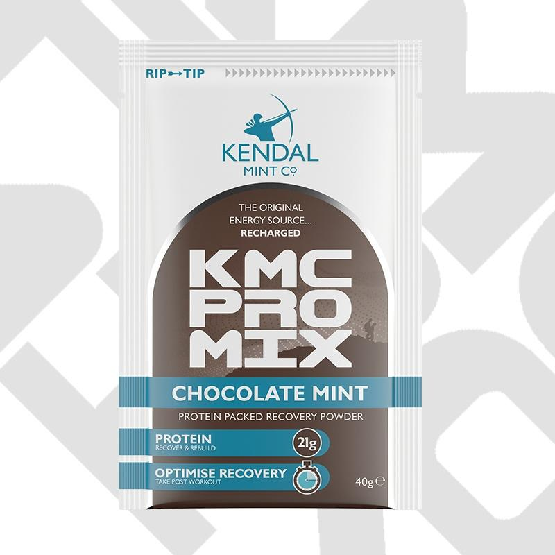1x KMC PRO MIX: Chocolate Mint Protein Recovery Powder 40g Sachet