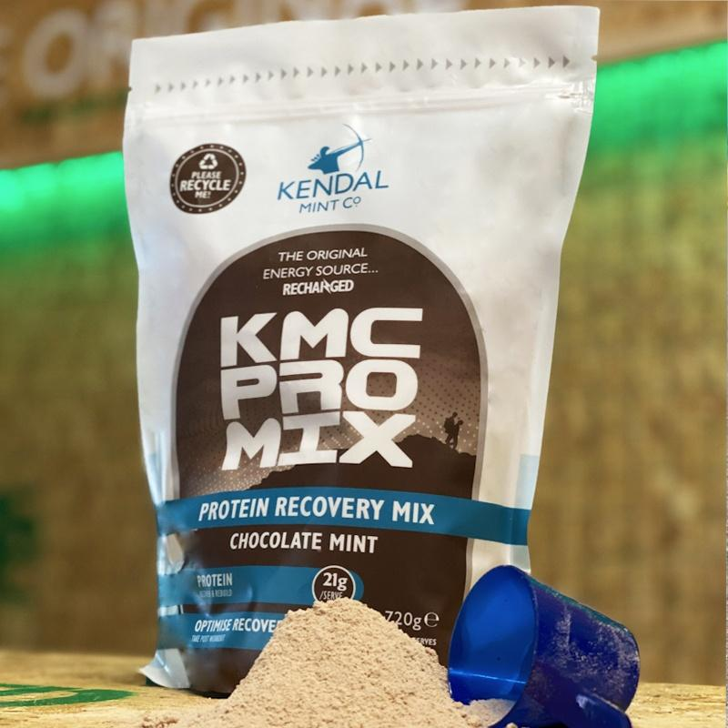 KMC PRO MIX kendal mint co protein recovery powder