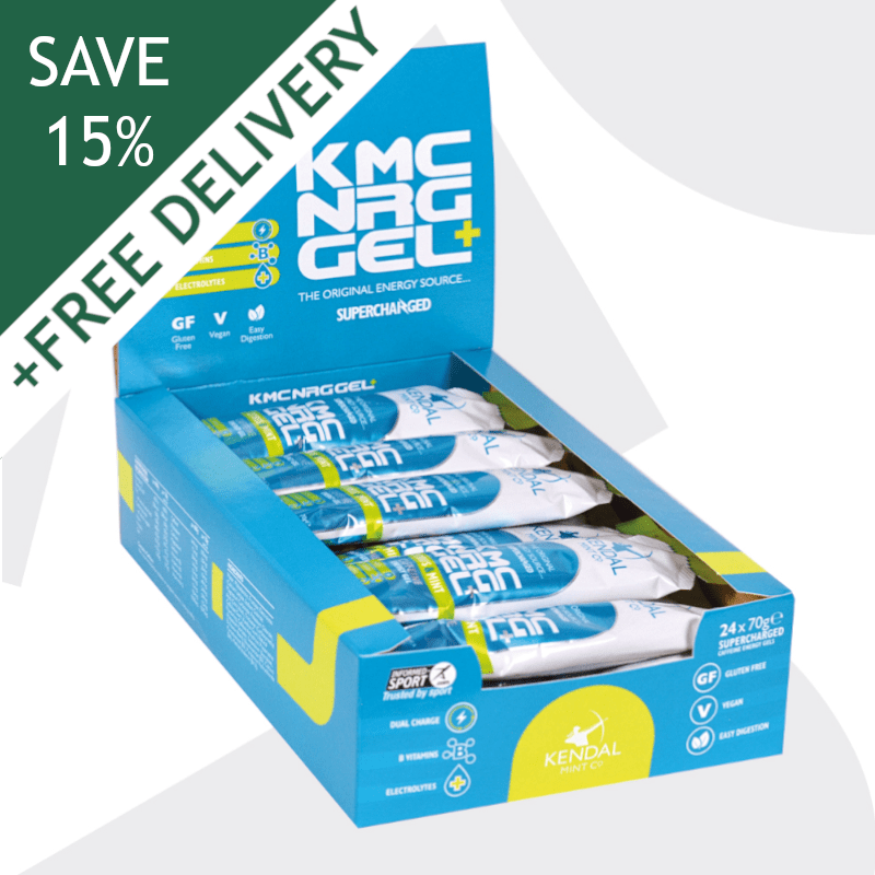 KMC NRG GEL+ Citrus & Mint Caffeine Energy Gel 70g (Subscribe & Save 15%)