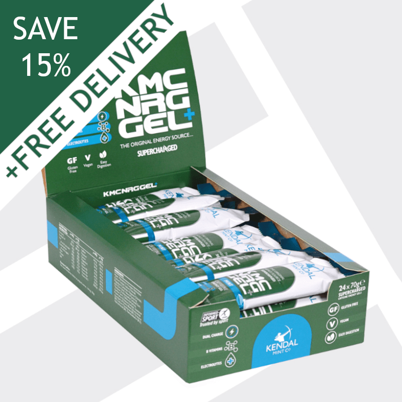 KMC NRG GEL+ Mint Caffeine Energy Gel 70g (Subscribe & Save 15%)